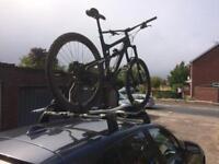 BMW 1 series bike carrier roof rack