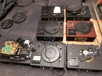 Job Lot x7 TEAC LP-R500/ USB Audio Shelf System CD Recorder/Turntables