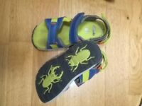 sandals childs size 12.5 junior