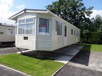 Used 2010 Carnaby Willow 37ft x 12ft 2 Bedroom Static Caravan Holiday Home Sited at Little Paddock