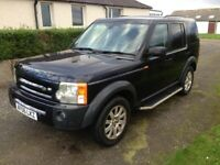 LANDROVER DISCOVERY 3 TDV6 7 SEATER AUTO 2006 LOW MILES LONG MOT 2 OWNER