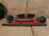 Renault Clio Mk3 06 - 12 Matt black interior trim and vents