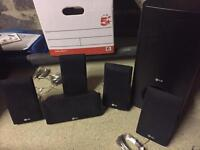 LG surround Sound and DVD player