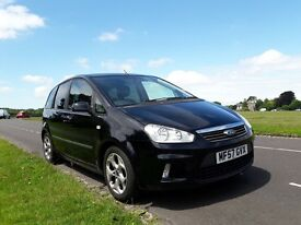 Ford c max Zetec 2.0 automatic 143hp , very low mileage, black, privacy glass