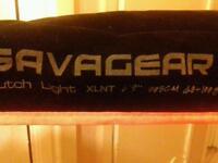 "Savage butch light xlnt 6'9"" + abu silver max"