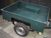 Land Rover Sankey Ex Army Trailer
