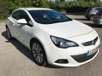 Vauxhall Astra GTC 1.4 i Turbo 16v SRi (s/s) 3dr. 140BHP, White