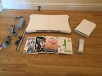 Wii Fit Console With Balance Board & 4 Games £30 no offers (Nintendo Wii)