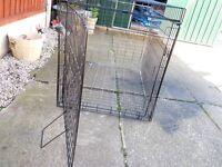 MEDIUM DOG CAGE, GOOD CONDITION, BARGAIN £20, CAN DELIVER