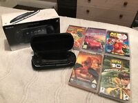 Psp + Games & 2 Movies