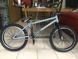 BMX stunt bike rare grey cult butter
