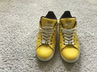 "SPECIAL EDITION ADIDAS ""MR HAPPY"" STAN SMITH Y4 ADICOLOUR TRAINERS UK 11 £35"