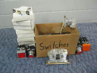 ASSORTMENT OF MICRO SWITCHES & CONTROL SWITCHES
