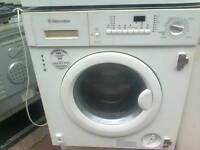 Intergrated washer dryer