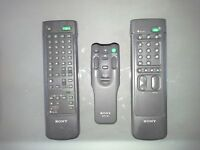 SONY - 3 Remote Controls