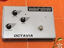Roger Mayer Octavia Effect pedal
