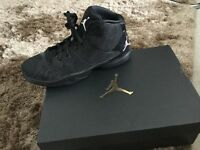 Perfect condition! Still in box! Women's Jordan's super fly '15 black size 5 (uk)