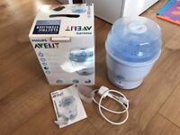 Philips Avent Electric Steam Steriliser for Infant Baby Bottles Dummies and Accessories