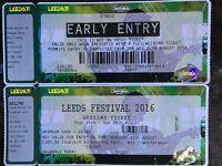 Leeds Festival Weekend and Early Bird ticket