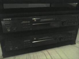 Sony wide bit stream mini dic player recorder