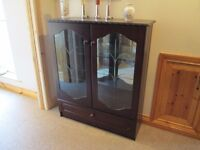 Glass fronted display cabinet/ china cabinet