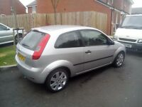"2004-fiesta 1.4 silver ltd edition top spec 16"" Alloys, leathers , all ekectric mot tax 79k £395"