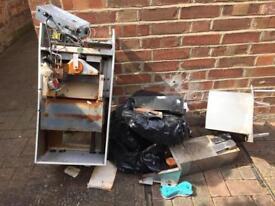 Scrap Metal Old Boiler