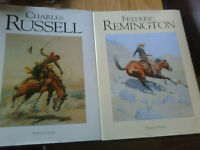 Fredric remington and charles russell books