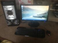 for sale full computer set up ie/ core 13 /1tb of hard drive /4gb of ram £60