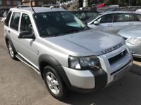 2005/05 LAND ROVER FREELANDER 2.0 TD4 SE 5 DR SILVER,GREAT ECONOMY,LOOKS AND DRIVES WELL