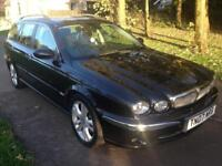 JAGUAR X-TYPE 2.2d Sovereign 5dr (black) 2007