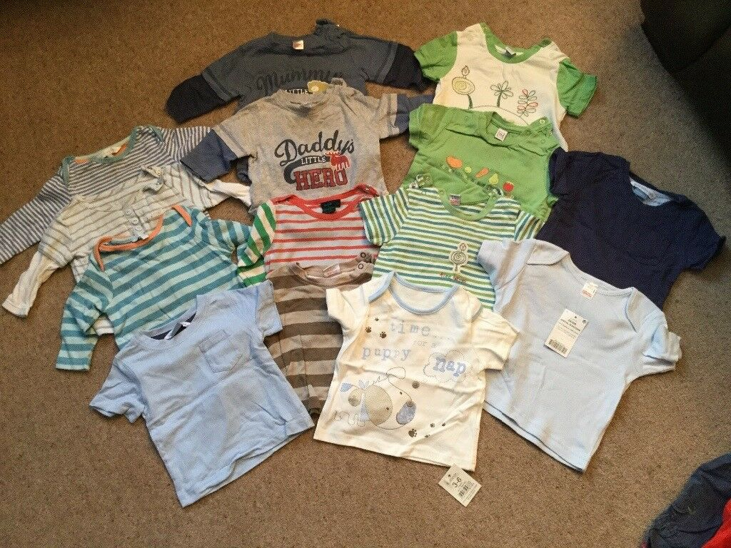 Bundle of boys clothes 3-6 months