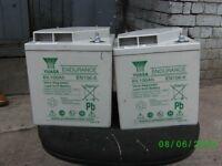 yasua en 100 batteries suitable camper /caravan/boat