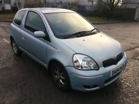 2005 54 TOYOTA YARIS 1.3 VVTi LOW 77K CAT C NEVER LET LAST OWNER DOWN REPAIRED PERFECT PX SWAPS