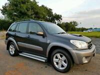 SORRY NOW SOLD!! 2005 Toyota Rav4 2.0 D4d 4x4 5 Door XT4, TOP SPEC! FULL LEATHER ETC