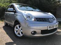 Nissan Note Acenta 2008 Long Mot Low Miles Drives Great !