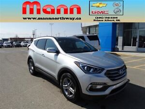 2017 Hyundai Santa Fe Sport AWD, Leather, Bluetooth, Alloy wheel