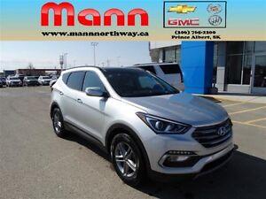 2017 Hyundai Santa Fe Sport AWD, Leather, Bluetooth, Alloy wheel