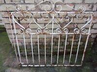 Iron metal gate - needs tlc