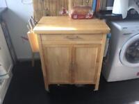 Argos wooden kitchen trolley