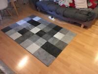Grey area rug/carpet