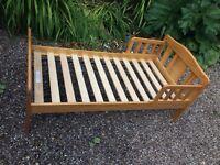 Toddler bed frame free