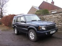 Land Rover Discovery TD5 63000 Miles / FSH / 7 Seater