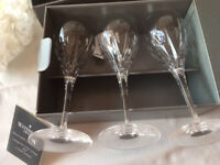 WATERFORD (Price Further REDUCED) Crystal Wine Glasses