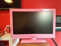 21 INCH PINK TV/DVD COMBO