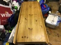 Solid Pine Folding Table
