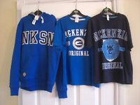 Boys hoodie & t-shirt sets.