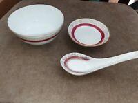 30-piece Chinese crockery set