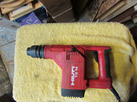 HILTI te14,l SDS and jacobs Chuck, rotary hammer drill 110v