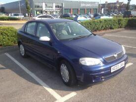 Vauxhall Astra Club 2003 - MOT Jan 2019